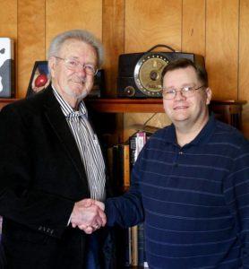 Ed O'Neal with co-author David Bruce Murray