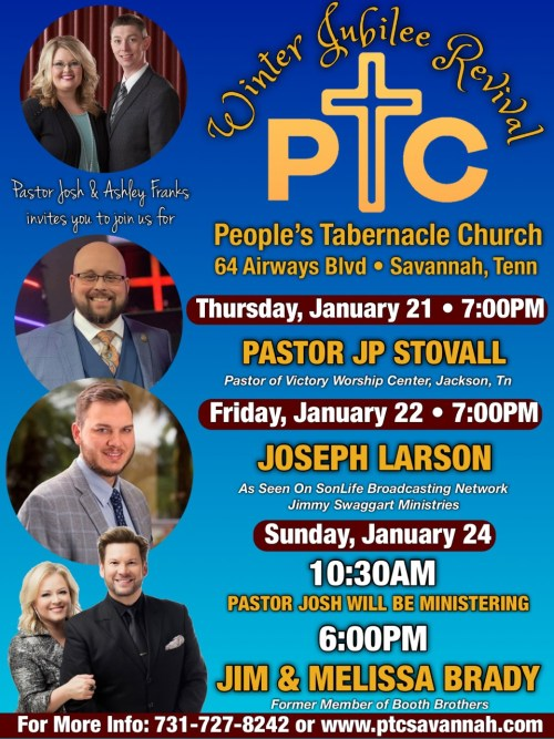 WINTER JUBILEE REVIVAL