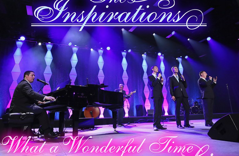 The Inspirations release live album, What A Wonderful Time