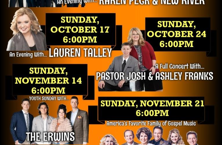 """FALL INTO SUNDAY CHURCH"" Gospel Series"