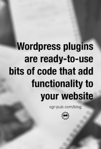 See our best wordpress plugins for authors, ready-to-use bits of code that add functionality