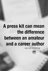 An author media kit can mean the difference between an amateur and a career author.