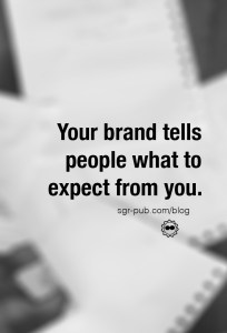 Your author brand tells people what to expect from you