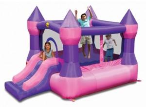 BC034 Princess Pinky Bouncer with Slide