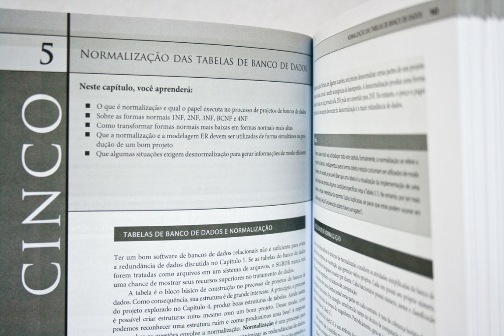 Diagramação de livro de processamento de dados