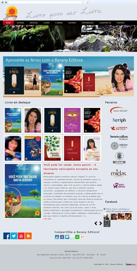 Site Barany Editora
