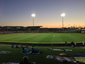 Sunset at Werner Park, Home of the Omaha Stormchasers