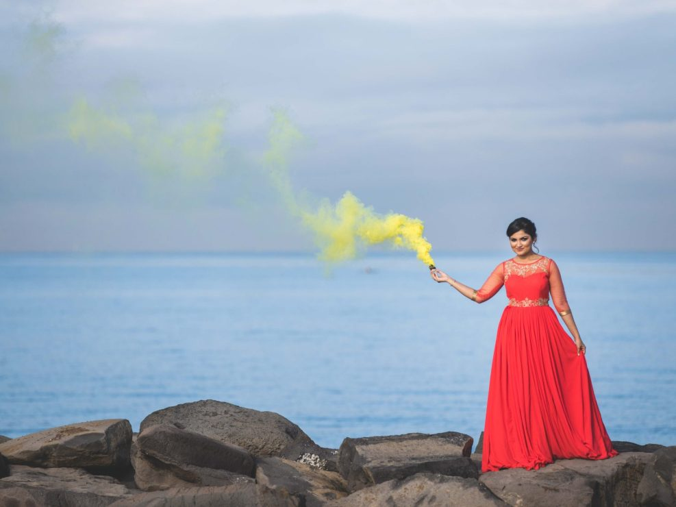 Funny Pre Wedding Photography