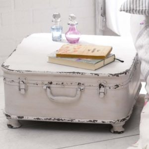 Coffee Table Side Table Suitcase With Storage Shabby