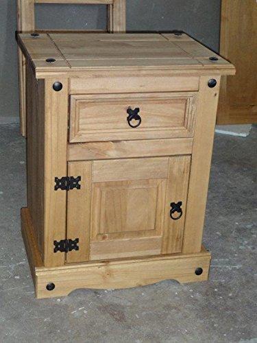 Corona 1 Door 1 Drawer Bedside