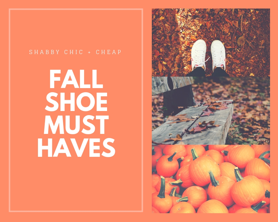 Fashion|Fall Shoe Must Haves