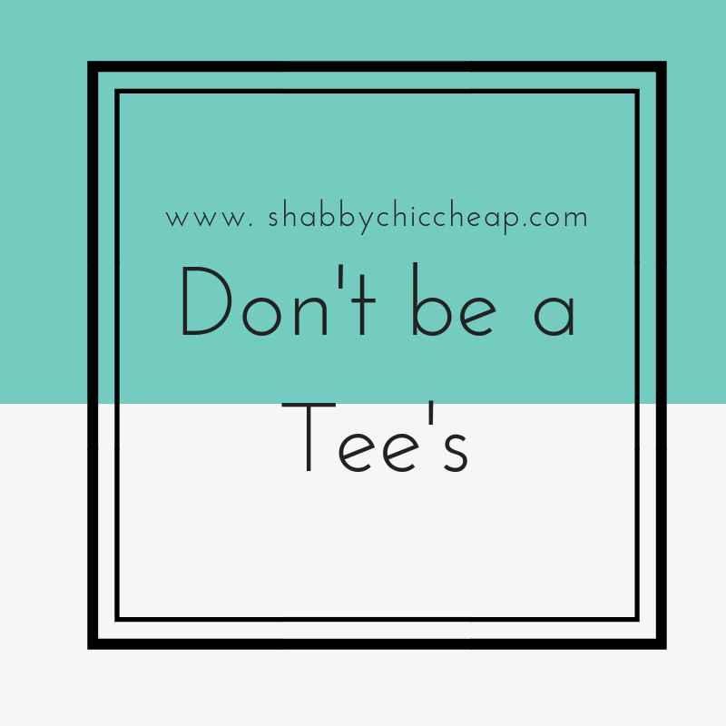 Fashion| Don't be a tees