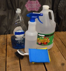 How to clean furniture for painting