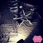Spraying Chalk Paint in the dark