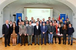 Die TeilnehmerInnen des 4. IFK-Alumnitreffen. Bild: Medienreferat/LVAk.