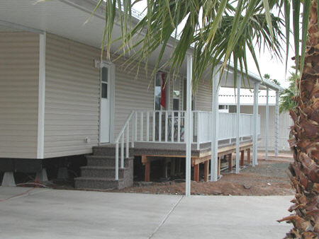 Aluminum Awning Deck And Shed