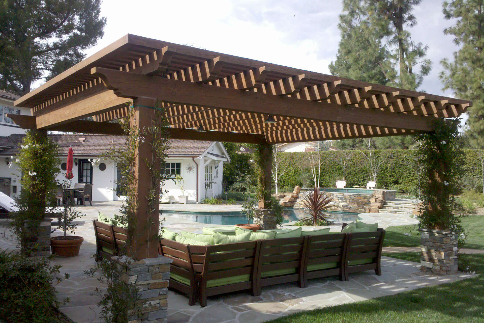 pergola roof ideas what you need to