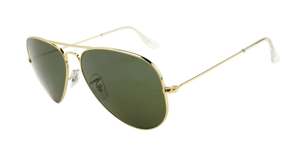 ray-ban-3025-gold-classic-aviators