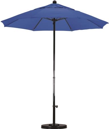 7 5 all fiberglass sunbrella a patio umbrella manual lift no tilt