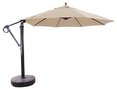 11 sunbrella b aluminum cantilever market umbrella sold out for 2021