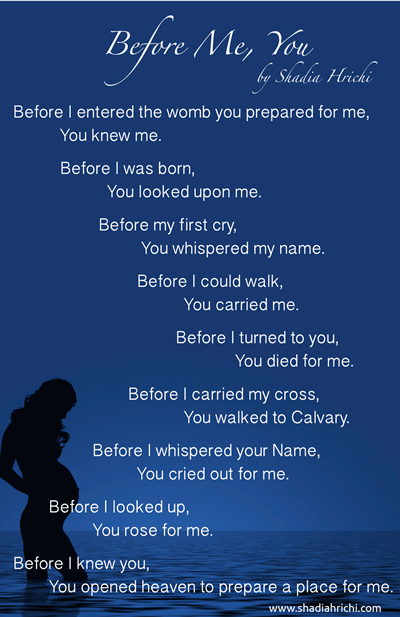 Before Me, You (You Are Known and Loved By God)