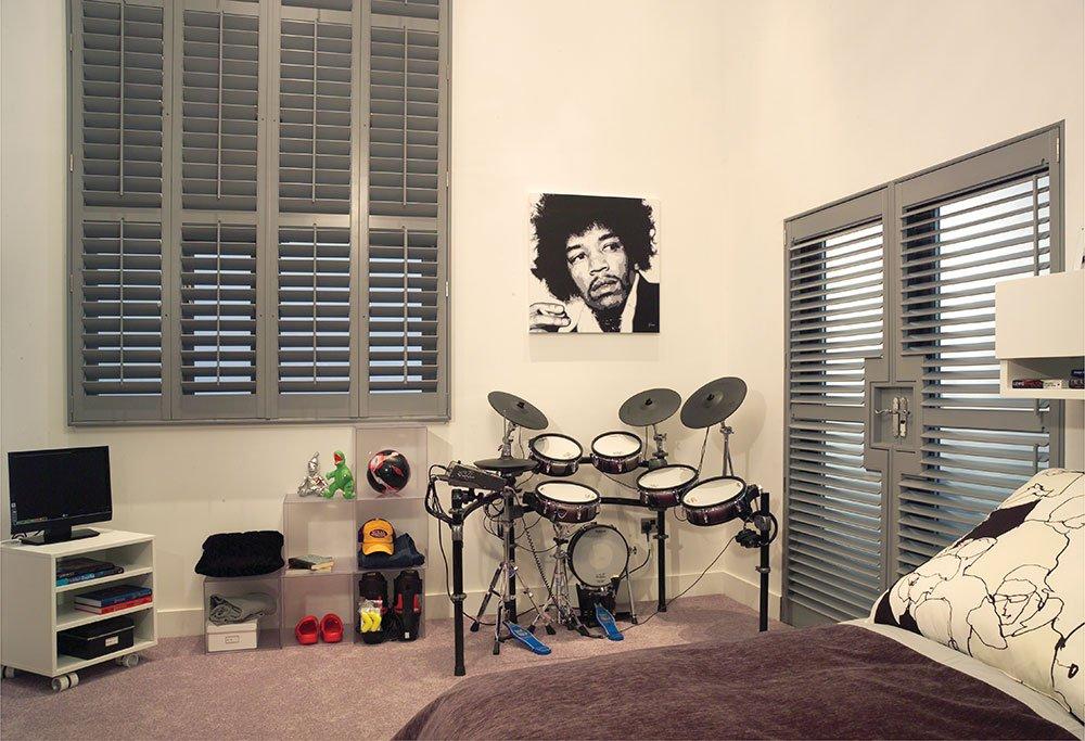 Gray Shutters Room Interior
