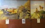 Italian & German POW's painted the murals