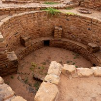 A Kiva used for ceremonies and communal activities