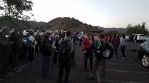 Lots of hikers!