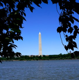 Washington Monument from across the Tidal Basin
