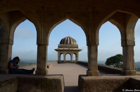 Mandu-Rani Rupmati's Pavilion