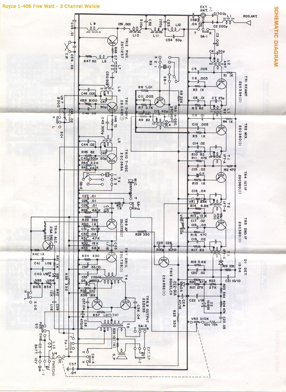 Cb Schematic Diagrams