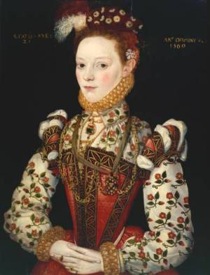 Anon, A Young Lady aged 21, 1569