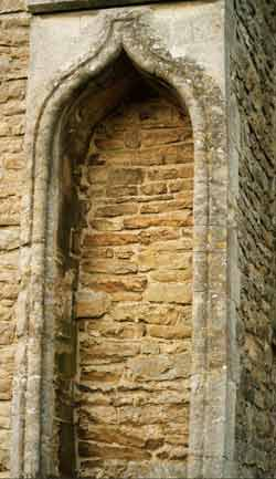 Church niche