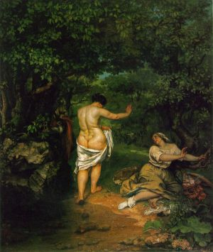 Courbet_The_Bathers_1853