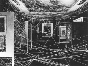 Duchamp_twine_installation_1942