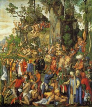 Durer_The_Martyrdom_of_the_Ten_Thousand_1508