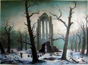 Friedrich_Cloister_Cemetery_in_the_Snow_1817-19