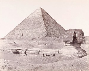 Frith_The_Great_Pyramid_and_the_Great_Sphinx_1858