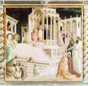 Gaddi_Florence_Presentation_of_the_Virgin_Santa_Croce
