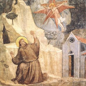 Giotto_Bardi_Chapel_S_Croce_Florence_Stigmatisation_1320s