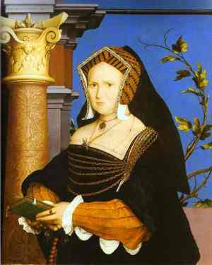 Holbein Portrait of Lady Guildford 1527