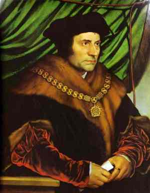 Holbein Portrait of Sir Thomas More 1527
