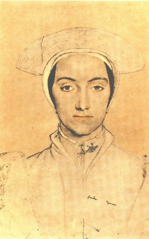 Holbein Unknown Lady