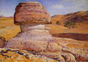 Hunt_The_Sphinx_Gizeh_Looking_towards_the_Pyramids_of_Sakhara_1854