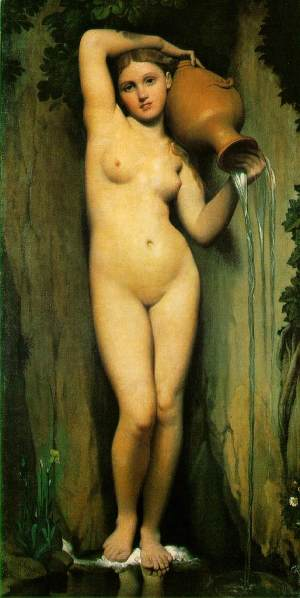 Ingres La Source 1856