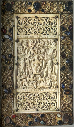 Ivory_book_cover_9thC