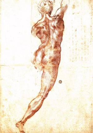 Michelangelo_Nude_Study_Cascina_pen_ink_black_chalk_1504