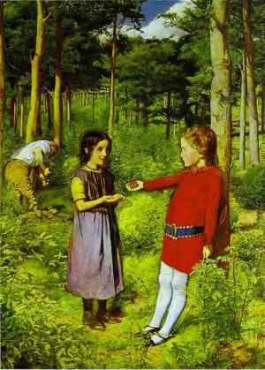 Millais_The_Woodmans_Daughter_1851