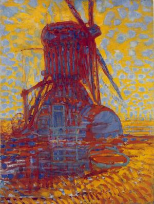 Mondrian_Mill_Sunlight_1908